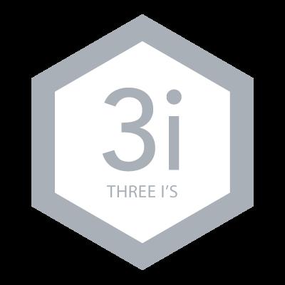 Three I's