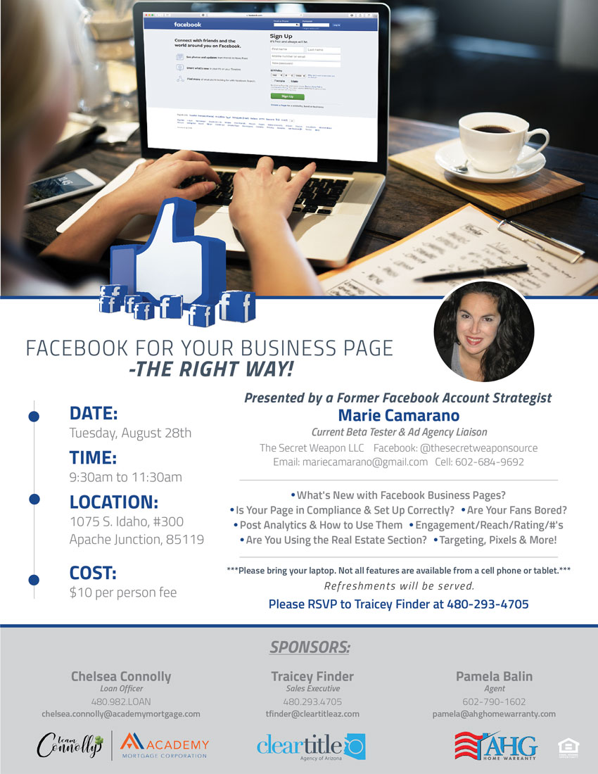 Facebook for Your Business Page – The Right Way! – Clear